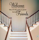 Home Room Decor Art Quote Wall Decal Stickers Bedroom Living Room Removable