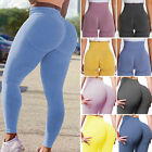 Womens Scrunch High Waist Yoga Pants Push Up Sport Leggings Fitness Gym Trousers
