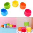 Universal Silicone Sippy Cup Straw Lids Mason Jar Kids Cup Drink Lid Q