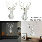 Wall Stickers Living Room Home Decoration Simple Barbershop Mirror Big