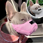 Soft Basket Muzzle Mesh Mouth Cover No Bite Bark Chew for Small Medium Sized Dog