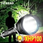 Ultra Bright 350000LM XHP100 LED Flashlight Rechargeable 5Modes Torch Lamp 18650
