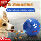 Pet Food Dispenser Puzzle Toy Tough-Treat Ball Dog Interactive Puppy Play Toy UK