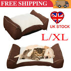 New Orthopedic Dog Bed Foam Dog Bed Cushion Pillow Removable Washable Cover X/XL