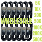 Wholesale Bulk USB C Type C Cable Fast Charger Lot For Samsung S8 S9 S10 Note 10