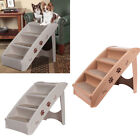 Plastic Folding Dog Puppy Step Stairs Pet Non-Slip Access Ladder Bed Sofa Ramp