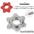 New Nut Barbell Spin-Lock Collars Screw Clamp Dumbell Weight Lifting Access
