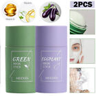 2x Green Tea Purifying Clay Stick Solid Mask Acne Blackhead Remover Cleansing A