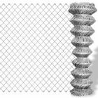 New Galvanised Chain Link Fence Weather-proof Corrosion-resistant 9 Sizes