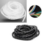 30-4mm Tidy Wire Spiral Cable Wrap PC TV Cord Wire Banding Storage...