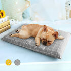 Dog Beds Large Dog Cushion Bed for Crate Kennel REMOVABLE ZIPPED COVER WASHABLE