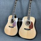 D45 Acoustic Electric Guitar Solid Spruce Abalone Purfling Binding