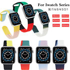 Silicone Sport iWatch Band Strap for Apple Watch Series SE 6 5 4 3 38/40/42/44mm