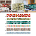 Bathroom Kitchen Removable Mosaic Tile Wall Paper Sticker Diy Home Decor