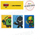 BRAWL STARS x LINE FRIENDS B5 Spring Note SPIKE CROW LEON Official Goods