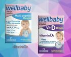 Vitabiotics Wellbaby Drops - Vit D Drops 30ml or Multi-vitamin Drops 30ml