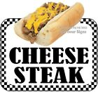 Cheese Steak DECAL (CHOOSE YOUR SIZE) Food Truck Concession Vinyl Sticker