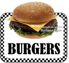 Burgers DECAL (CHOOSE YOUR SIZE) Food Truck Concession Vinyl Sticker