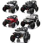 12V Electric Car Kids Ride On Truck 3 Speed Led Lights With Remote Control Music