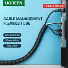 Cable Holder Organizer 25mm Diameter Flexible Spiral Tube Cable Organizer