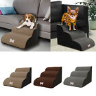 3 Steps Foam Pet Stairs Zipper Cover Travel for Bed Sofa Indoor Pet Supplies
