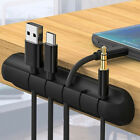 Cable Clips, Ties, Charger Wire Holder Tidy Management, Lead Desk USB Organizer