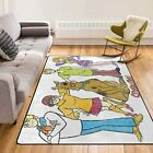 Scooby Doo Scooby Gang Area Rugs For Living room│Kids room│Comfortable Carpet