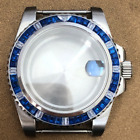 Crystal Stainless Steel Case 40 mm Watch Modified Sapphire Glass for NH35 Watch