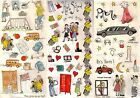 SCHOOL STICKERS Choice of GRADE & HIGH SCHOOL lockers books or PROM Limo