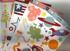 PEBBLES Assorted CARDSTOCK Diecut STICKER Sheets Choice
