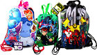 BEN 10 Girls Boys School Drawstring GYM PE Sports Bags