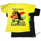 RASTA LION OF JUDAH KING OF KINGS RASTAFARI NEW T-SHIRT