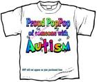 T-Shirt - Autism Awareness PROUD GRANDPA - up to size 6xLarge