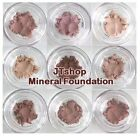 JTshop Superior Mineral Foundation 6 SAMPLE BAGS Vegan Powder ALL NATURAL 5 IN 1