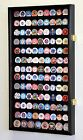 117 Casino Poker Chip Coin Display Case Holder Cabinet
