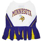 Minnesota Vikings NFL dog pet sports Cheerleader Dress shirt (all sizes)