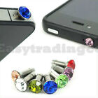 Crystal Bling 3.5mm Headphone Jack Cover iPhone 4 HTC
