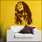 Large Bob Marley Wall Art Sticker In Matt Vinyl Decal Transfer XL 1.4x1.1m Tall