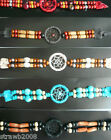 Dreamcatcher Dream Catcher Indian Tribal Bracelet Choker Wristband Suede/Beads