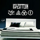 LED ZEPPELIN LARGE KITCHEN BEDROOM WALL MURAL GIANT ART STICKER DECAL  VINYL
