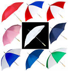 "SET OF 2: 48"" Barton Outdoors® Golf Umbrella, Rain, Shade, Auto Open, Colors"