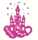 LARGE PERSONALISED PRINCESS CHILDRENS BEDROOM WALL MURAL GIANT ART STICKER VINYL