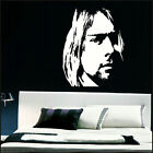 KURT COBAIN LARGE BEDROOM WALL MURAL ART STICKER STENCIL GIANT DECAL MATT VINYL