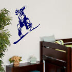 LARGE SNOW BOARDING CHILDRENS BEDROOM WALL MURAL GIANT ART STICKER DECAL  VINYL