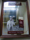 OLD PORT MILD CIGARS COLLECTABLE PROMOTIONAL MIRROR