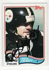 CRAIG COLQUITT SIGNED PITTSURGH STEELERS 1982 TOPPS #