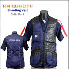 Krieghoff Shooting Vest - Solid Back - Left Hand (Large Cartridge Pockets)