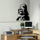 LARGE DARTH VADER STAR WARS KITCHEN BEDROOM WALL MURAL STENCIL TRANSFER  DECAL