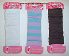 LEG WARMERS – FASHION – DANCE - COLOR CHOICES - GIRLS – INFANTS SZ 6-24 MO – NWT