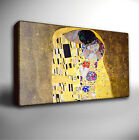 GUSTAV KLIMT THE KISS - GICLEE CANVAS ART